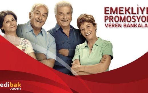 Emekliye Promosyon Veren Bankalar ve Promosyon Miktarları