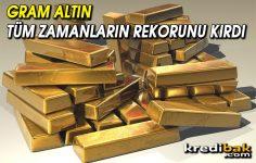 Altının Gram Fiyatı Yeni Rekor Kırdı